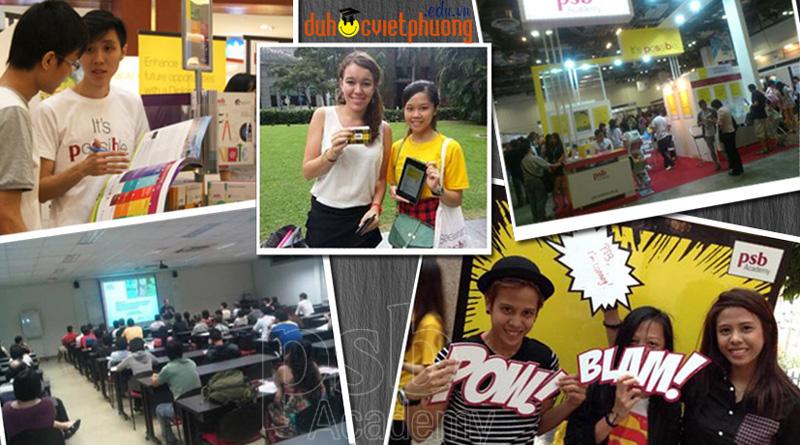 du học singapore tổng quan học viện psb