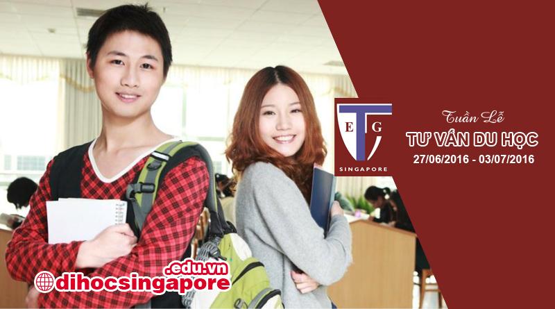Tuần lễ du học Singapore nhận bằng Anh Quốc tại trường Quốc tế TEG