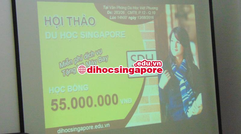 Tổng quan hội thảo du học singapore khối ngành nhà hàng khách sạn