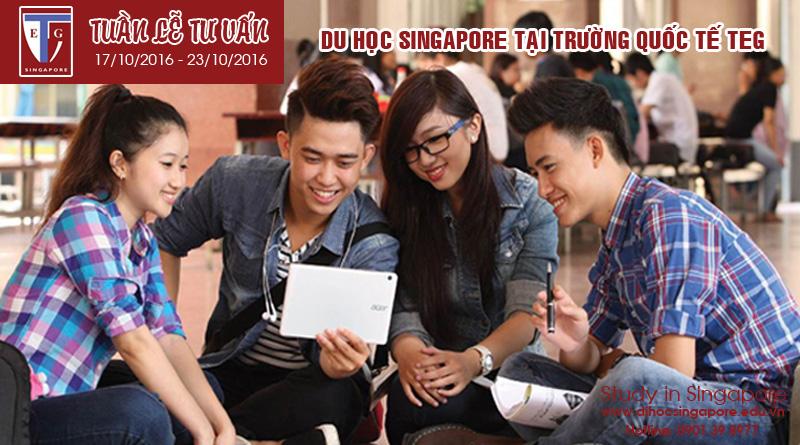 Tuần lễ tư vấn du học Singapore Trường Quốc tế TEG