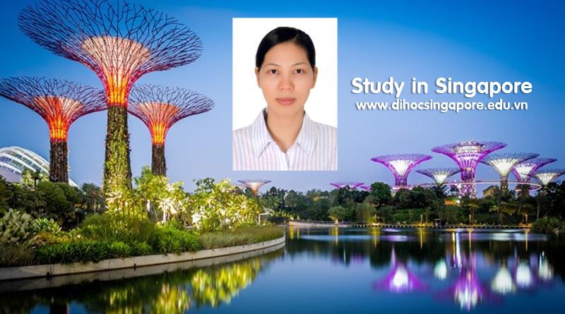 Chúc mừng bạn Trần thị Thắng nhận được visa du học Singapore