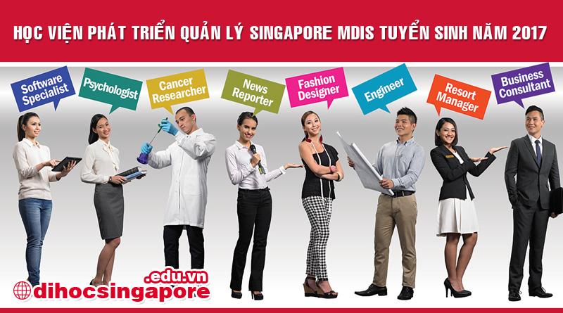 Du học Singapore 2017 tại Học viện Phát triển Quản lý Singapore MDIS