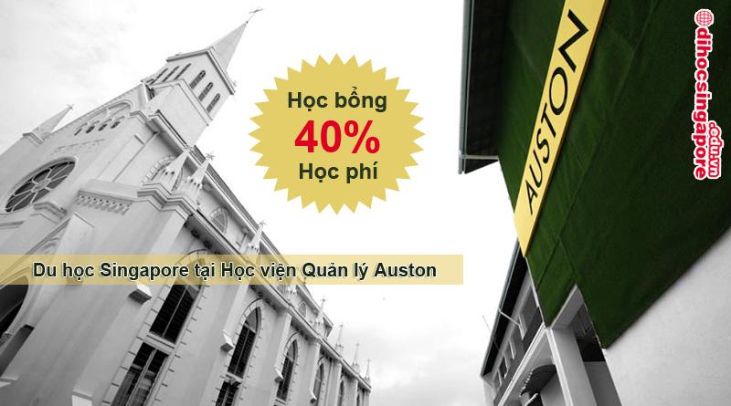 Học bổng du học Singapore 40% học phí tại Học viện Quản lý Auston