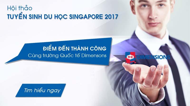 Hội thảo du học Singapore giải pháp du học thông minh