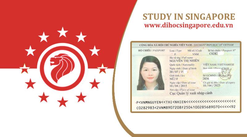 Chúc mừng bạn Nguyễn Thị Nhiện đậu visa du học Singapore cùng Du học Việt Phương