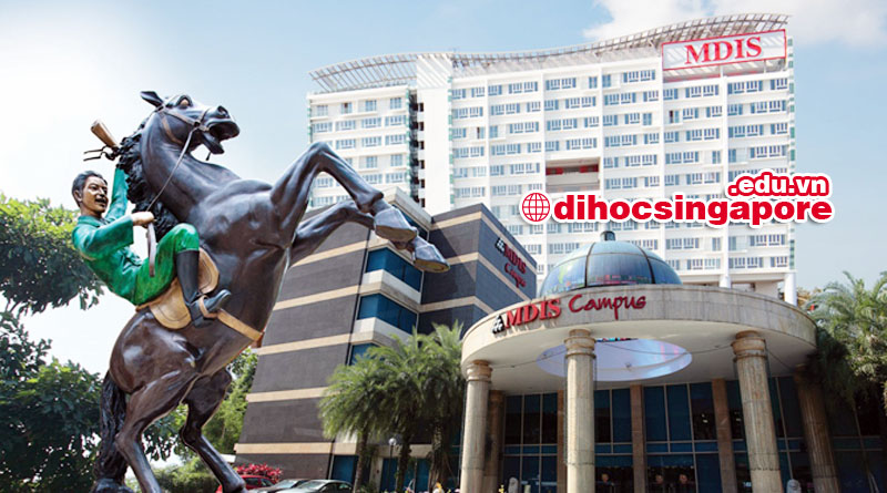 Học viện MDIS với cơ sở vật chất bậc nhất tại Singapore