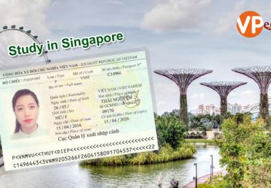 Chúc mừng Vũ Thúy Điệp đã nhận được visa du học Singapore