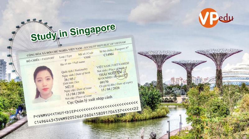 Chúc mừng bạn Vũ Thúy Điệp nhận được visa du học Singapore