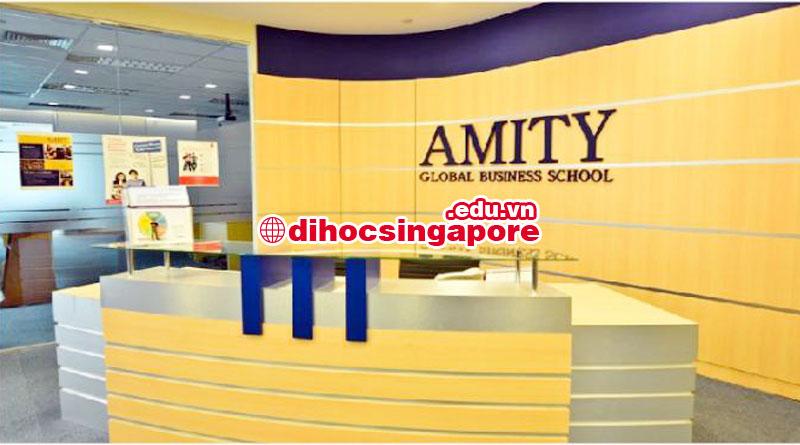 Du học Singapore 2017 tại trường kinh doanh quốc tế AMITY