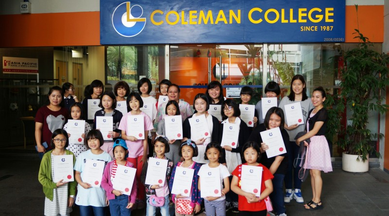 Du học Singapore khóa luyện thị trường công lập tại Cao đẳng Coleman